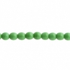Czech Druk 4mm (Apx 45pcs) Opaque Green